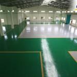 Sơn sàn epoxy ứng dụng trong công nghiệp