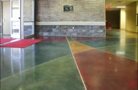 Dịch vụ nhuộm màu bê tông