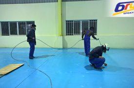 Đặc tính kỹ thuật của sơn epoxy tự san phẳng