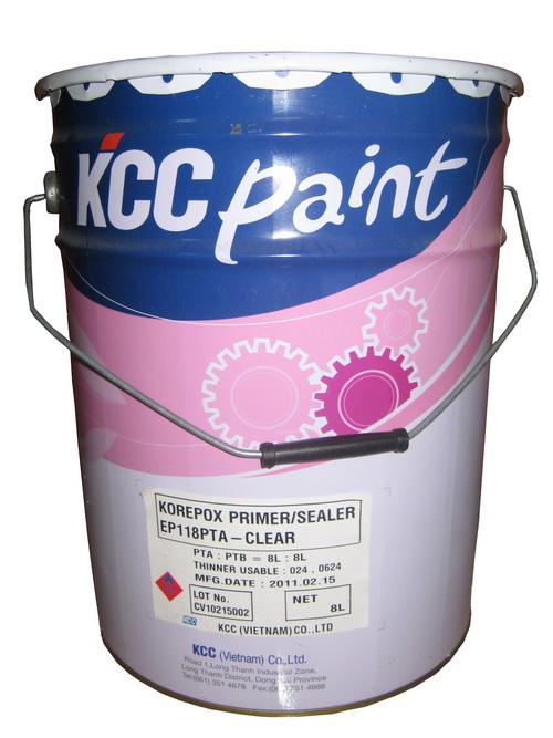 Sơn epoxy cho sàn hệ lăn ET 5660 của hãng KCC