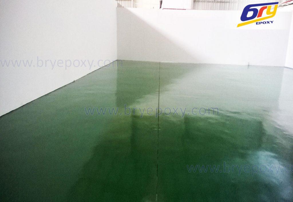 Sơn sàn epoxy nhà máy thực phẩm tại Từ Sơn-Bắc Ninh