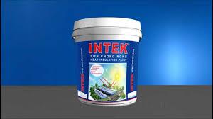 Sơn chống nóng của hãng INTEX