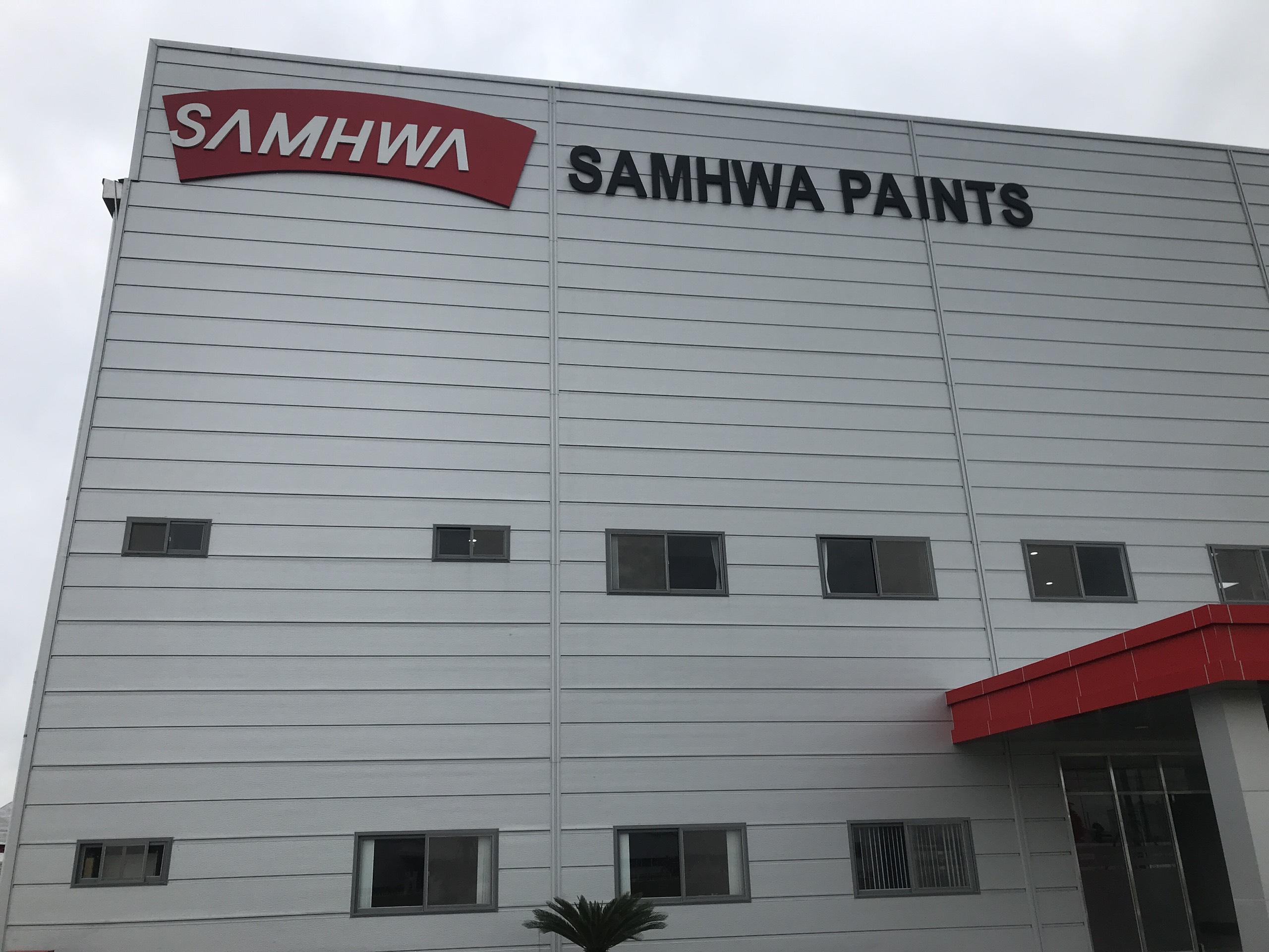 Sơn Samhwa( Samhwa paint)- Hãng sơn công nghiệp hàng đầu thế giới